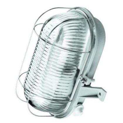 LENA LIGHTING Hajólámpa fém rácsos, 230V, E27, 60W, IP44