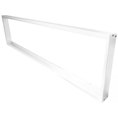 TRACON LP30120K Szerelőkeret LED panelek falon kívüli szereléséhez 300×1200 mm