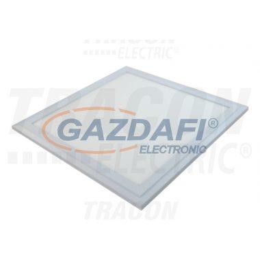 TRACON LP303019NW Süllyesztett LED panel, négyzet, fehér 220-240 VAC; 19 W; 1400 lm; 296×296 mm, 4000 K; IP40; EEI=A