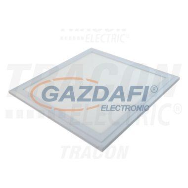 TRACON LPE606050NW Süllyesztett LED panel, négyzet, fehér 220-240 VAC; 48 W; 3300 lm; 595×595 mm, 4000 K; IP40, EEI=A