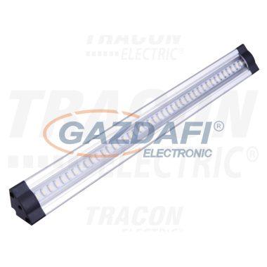 TRACON LSBS5WW Sorolható LED bútorvilágító, háromszög kivitel 12 VDC, 5 W, 420 lm, 3000 K, 72×SMD3528, EEI=A