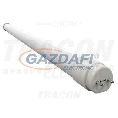 TRACON LT812018NW LED világító cső, tejüveg 230 V, 50 Hz, G13, 18 W, 1620 lm, 4000 K, 190°, EEI=A+
