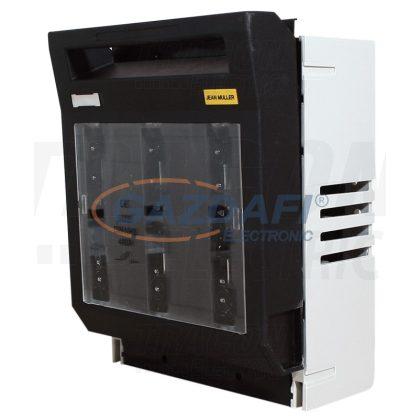 TRACON LTL00-3-9 Vízszintes biztosítós szakaszolókapcsoló, szerelőlapra