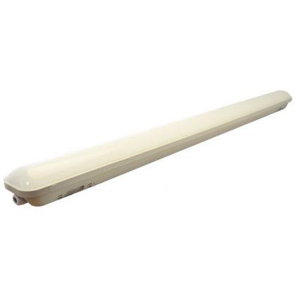 TRACON LV0612 Védett LED ipari lámpatest 230VAC, 12W, 4000 K, 1000 lm, IP65, EEI=A