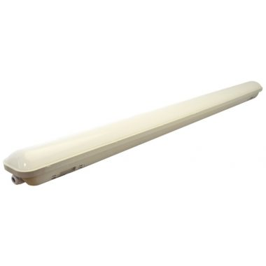 TRACON LV1548M Védett LED ipari lámpatest mozgásérzékelő funkcióval 230 V, 50 Hz, 48 W, 4000 K, 4000 lm, IP65