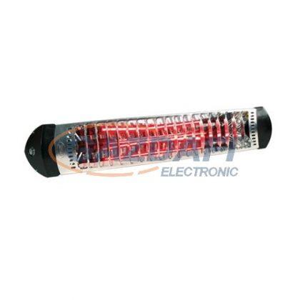 MOEL M718-N Sharklite infra rubin hősugárzó, 1800W, kapcsolóval és vezetékkel