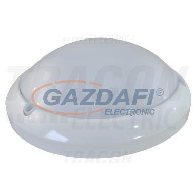 TRACON MFM04 Műanyag védett beltéri fali LED lámpatest mozgásérzékelővel 230VAC,16W,5,8GHz,360°,2-8m,6s-30m,4500K,EEI=A,IP54,1285lm