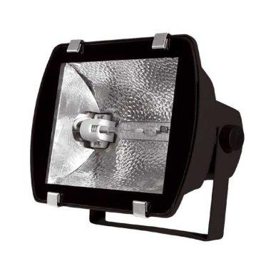 KANLUX Matma fémhalogén fényvető, 150W, R7s, fekete, IP65