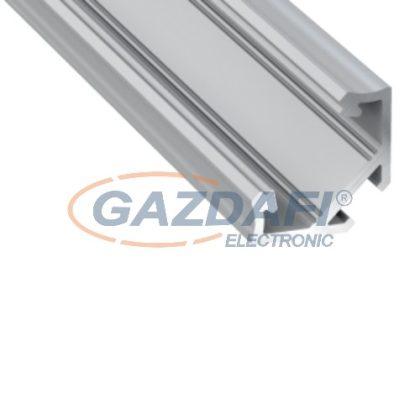 MAXLED MXL-40090 LED sarokprofil, üres, 2m