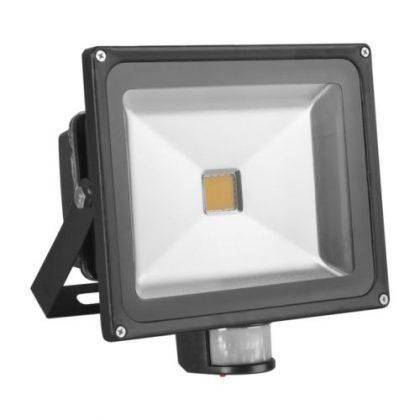 MAXLED MXL-63128 Classic mozgásérzékelős LED fényvető 10W IP65 hideg fehér