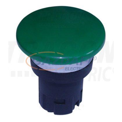 TRACON NYG2-F8 Gombafejű vészgomb fej-egység, zöld