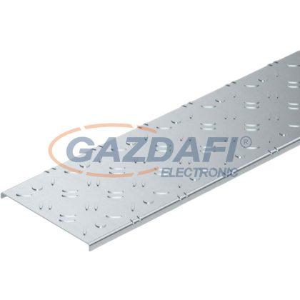 OBO 6049121 DBKR 200 FS Fedél csúszásmentes bordával járható kábeltálcához szalaghorganyzott 200x3000mm