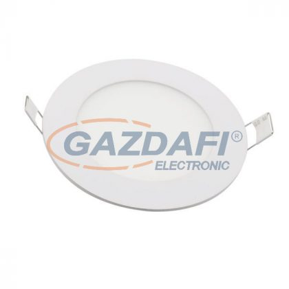OPTONICA 2612 LED panel, süllyesztett kerek 24W 2010LM AC85-265V CRI>95 4500K