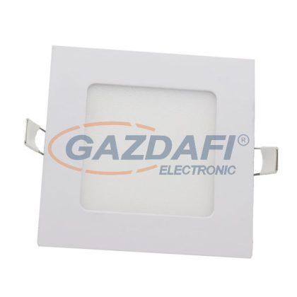 OPTONICA 2614 LED panel, süllyesztett szögletes 6W 440LM AC85-265V CRI>95 6000K
