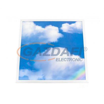 """OPTONICA 2780 LED panel 3D """"égbolt"""", süllyesztett, szögletes, tápegységgel 60x60 45W AC220-240V 6000K vibrálásmentes"""