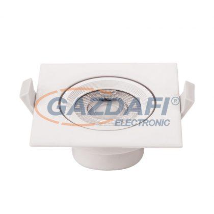OPTONICA 3287 7W LED COB spot lámpa szögletes billenthető AC100-240V 525LM 6000K