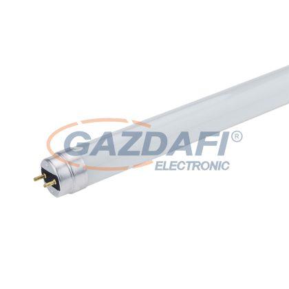 OPTONICA 5630 LED fénycső T8 üveg, egyoldalú bekötés 18W 120CM 175-265V 1440LM 4000K