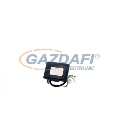 OPTONICA 5916 LED SMD fényvető fekete 10W 800LM AC220-265V 120° IP65 4500K