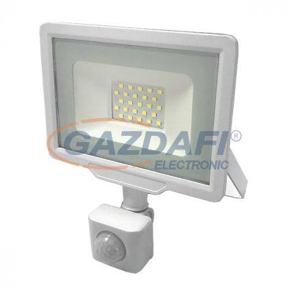 OPTONICA 5934 LED SMD fényvető fehér 20W 1600LM AC220-265V 120° IP65 4500K - mozgásérzékelővel