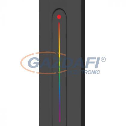 OPTONICA 6360 LED távirányító 1 zónás 2.4GHz RGB R13 - fekete