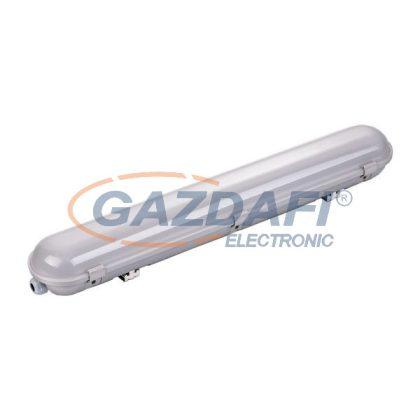 OPTONICA 6709 LED fénycsöves, por- és páramentes armatúra IP65 120CM 40W 100LM/W 6000K vészvilágító funkcióval - rozsdamentes acél rögzítő elemekkel, tömszelencével