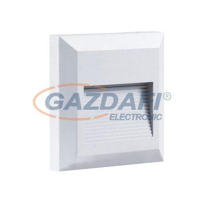 OPTONICA 7511 LED lépcsővilágító szögletes fehér 2W 3000K 120LM AC100-240V IP65