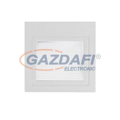 OPTONICA 7521 LED lépcsővilágító szögletes fehér 3W 4200K 195LM AC220-240V IP20