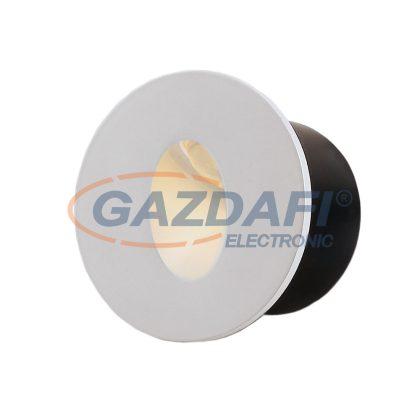 OPTONICA 7523 LED lépcsővilágító kerek fehér 3W 4200K 120LM AC100-240V IP20