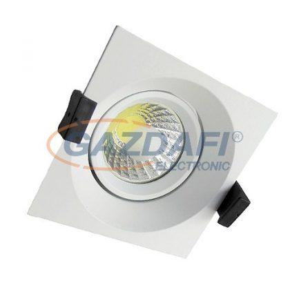 OPTONICA CB3207 süllyesztett LED spot lámpatest,forgatható 8W 200-240V 640lm 6000K 60° 100x100x70mm IP20 A+ 25000h