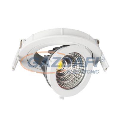 OPTONICA CB3253 süllyesztett LED spot,állítható 12W 200-240V 960lm 2700K 60° 115x42mm IP20 A+ 25000h