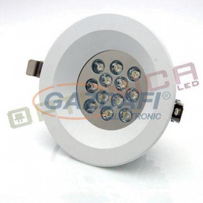 OPTONICA DL2166 LED beépíthető spot 9W 220V 720lm 6000K 40° 180x75mm IP20 A+ 25000h