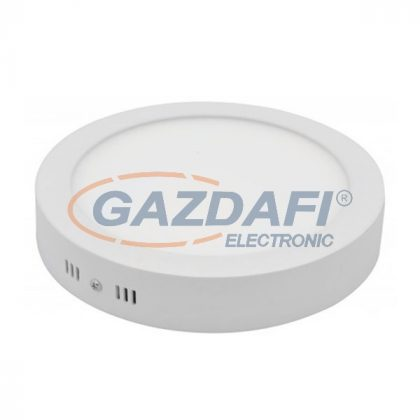OPTONICA DL2246 falon kívüli LED panel,kerek 12W 220-240V 960lm 2800K ø172x38mm IP20 A+ 25000h