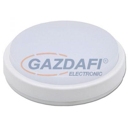 OPTONICA DL2280 falon kívüli LED panel,kerek 8W 180-265V 640lm 6000K 120° ø160x48mm IP65 A+ 25000h