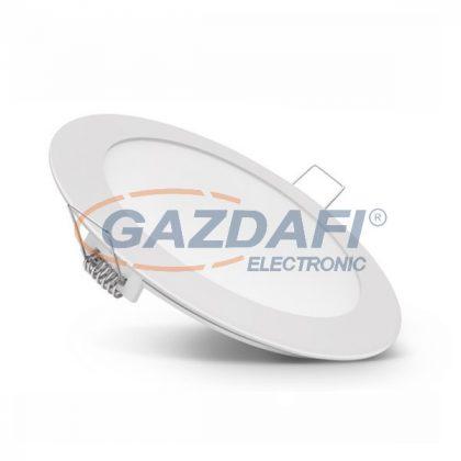 OPTONICA DL2437 süllyesztett LED panel, kerek 12W 85-265V 780lm 6000K 120° ø170x25mm IP20 A+ 25000h