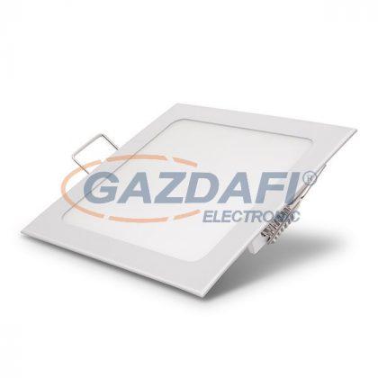 OPTONICA DL2573 Süllyesztett LED panel, négyzet 12W 170-265V 960lm 2800K 120° 167x167x20mm IP20 A+ 25000h