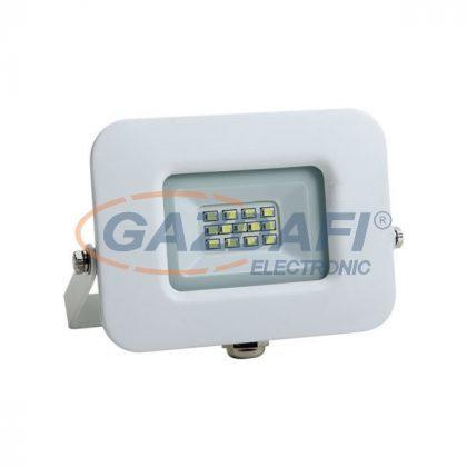OPTONICA FL5866 LED fényvető, fehér, EPISTAR 10W AC170-265V 150° IP65 4500K 70cm kábellel