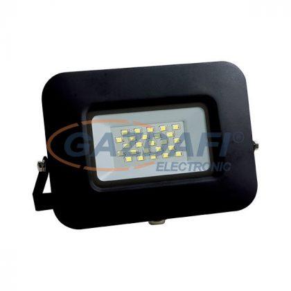 OPTONICA FL5882 LED fényvető, fekete, EPISTAR 10W AC170-265V 150° IP65 2800K 70CM kábellel
