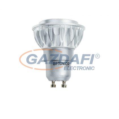 LED fényforrás GU10 7W/220V COB 6000K - ALUMINIUM