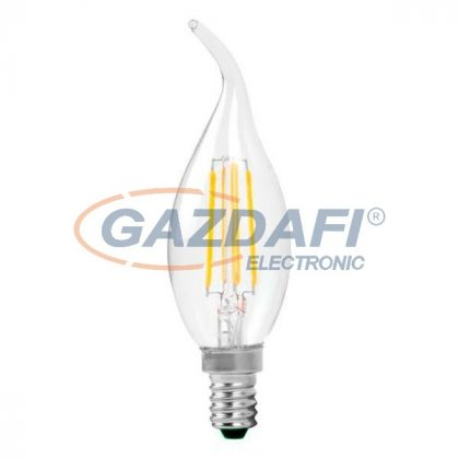 OPTONICA SP1481 LED fényforrás,filament C35 E14 4W 175-265V 320lm 4500K 300° 35x115mm IP20 A+ 25000h