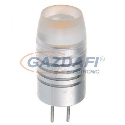 OPTONICA SP1601 LED fényforrás G4 1W 12V 90lm 2800K 150° 11x30mm IP20 A+ 25000h