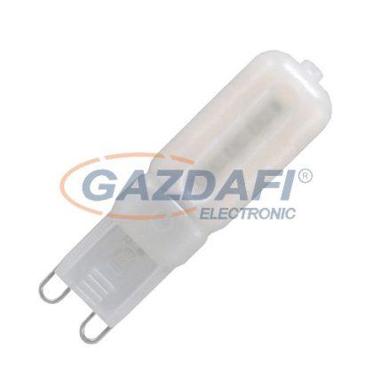 OPTONICA SP1640 LED fényforrás G9 3W 170-265V 220lm 2800K 360° 15x45mm IP20 A+ 25000h