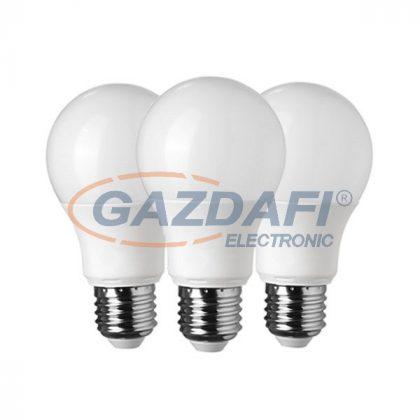 OPTONICA SP1727 LED fényforrás 3db/csomag A60 E27 10W 175-265V 806lm 6000K 270° 60x118mm IP20 A+ 25000h