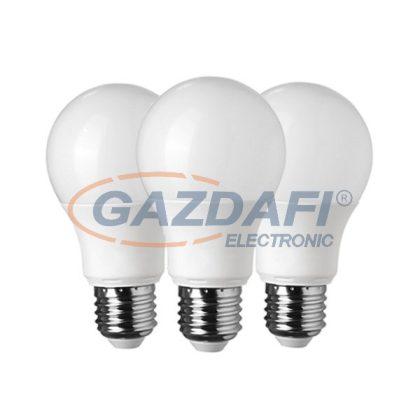 OPTONICA SP1729 LED fényforrás 3db/csomag A60 E27 10W 175-265V 806lm 2700K 270° 60x118mm IP20 A+ 25000h