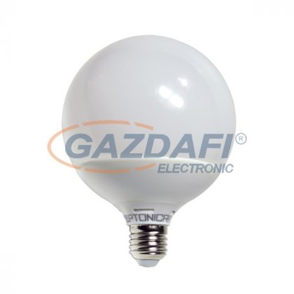 OPTONICA SP1845 LED fényforrás E27 G120 15W 85-265V 1380lm 6000K 270° 120x155mm IP20 A+ 25000h