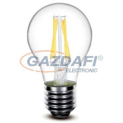 OPTONICA SP1853 LED fényforrás,filament,dimmelhető A60 E27 6W 175-265V 600lm 2700K 300° 60x106mm IP20 A+ 25000h