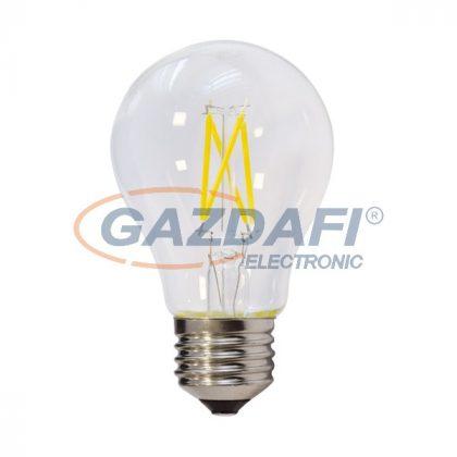 OPTONICA SP1858 LED fényforrás,filament A60 E27 4W 400lm 175-265V 4500K 300° 60x106mm IP20 A+ 25000h