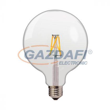 OPTONICA SP1863 LED fényforrás,filament G125 E27 4W 175-265V 400lm 4500K 300° 125x165mm IP20 A+ 25000h