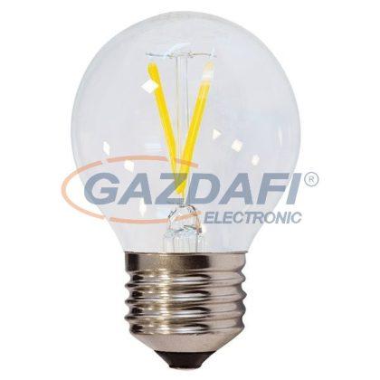 OPTONICA SP1866 LED fényforrás,filament G45 E27 2W 175-265V 200lm 2700K 300° 45x78mm IP20 A+ 25000h