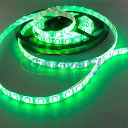OPTONICA ST4218 LED kültéri szalag,zöld 60ledes 14,4W 12V 750lm 120° 10x1000x3mm IP54 A+ 25000h