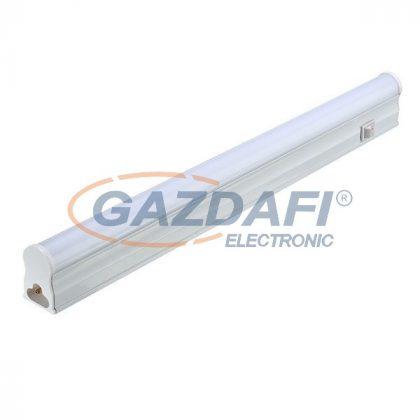OPTONICA TU5526 LED fénycső T5 57 CM, 8W/AC165-265V, MAT 2800K kapcsolóval